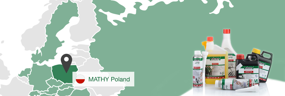 Our MATHY Distributor for Poland